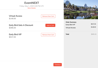 Ticketing-to-online-event
